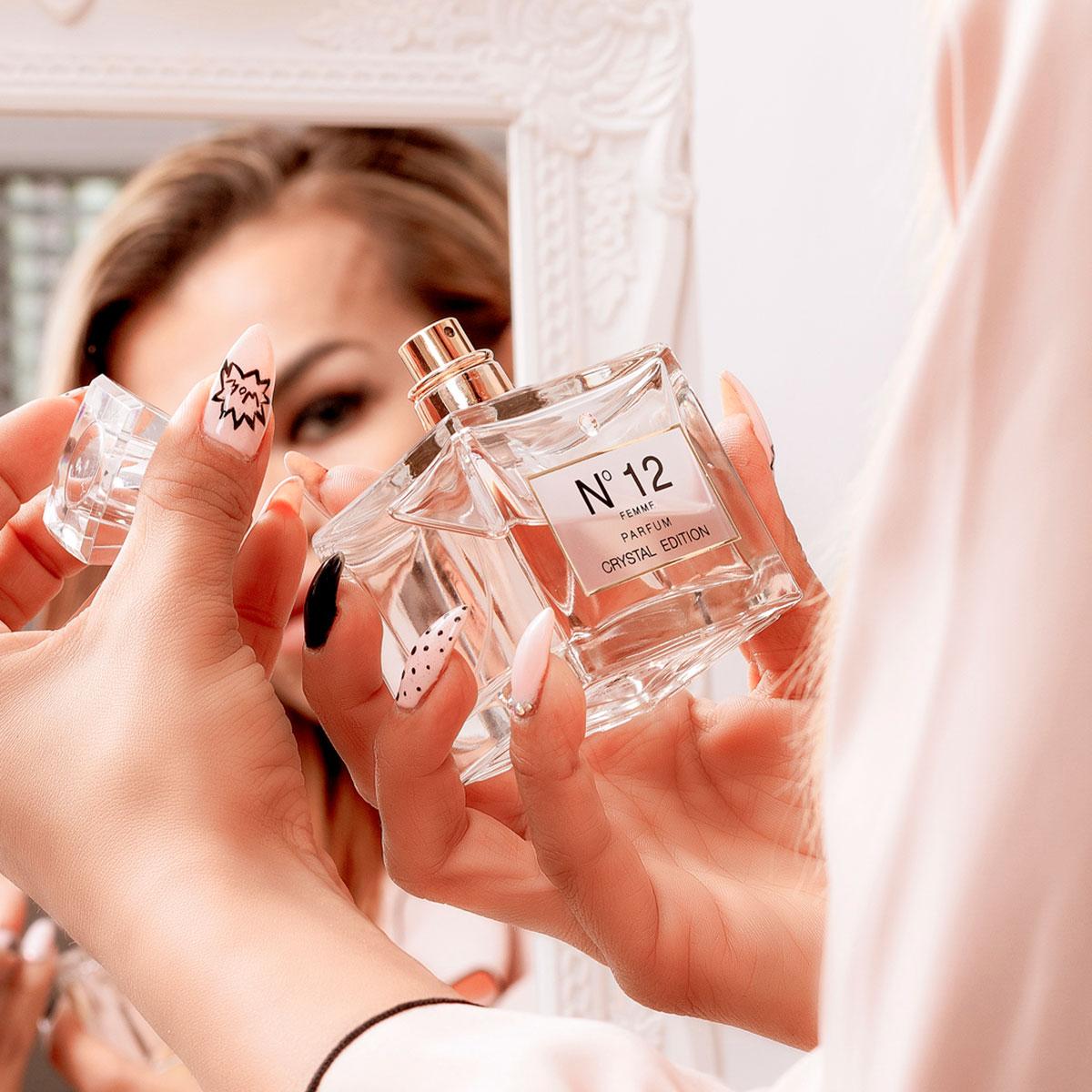 Perfume advertising